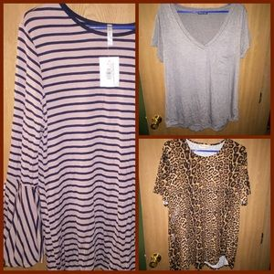 Spring Plus Size Top Lot